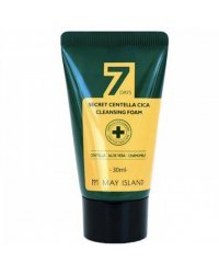 May Island 7 Days Secret Centella Cica Cleansing Foam - Пенка с экстрактом центеллы 30 мл