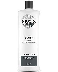 Nioxin Cleanser System 2 - Очищающий шампунь (Система 2) 1000 мл