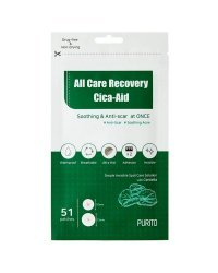 Purito All Care Recovery Cica-Aid - Патчи для проблемной кожи 5 г