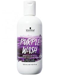 Schwarzkopf Color Wash Purple - Пигментированный шампунь фиолетовый 300 мл