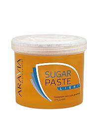 Aravia Professional Сахарная паста для депиляции Легкая средней консистенции 750 г
