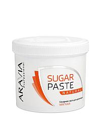 Aravia Professional Сахарная паста для депиляции Натуральная мягкой консистенции 750 г
