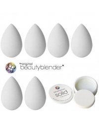 beautyblender Pure   Solid Blendercleanser - 6 Спонжей для макияжа   мыло для очистки 30 мл
