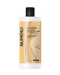 Brelil Numero Nourishing Shampoo With Shea Butter - Шампунь с маслом карите для сухих волос 1000 мл