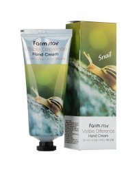 FarmStay Snail Visible Difference Hand Cream - Крем для рук с муцином улитки 100 г