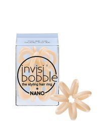 Invisibobble NANO To Be or Nude to Be - Резинка для волос, цвет бежевый 3 шт