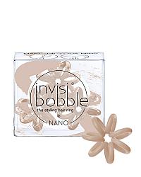 Invisibobble NANO Make-Up Your Mind - Резинка для волос, цвет нюдовый 3 шт