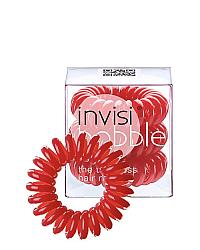 Invisibobble ORIGINAL Raspberry Red - Резинка для волос, цвет красный 3 шт