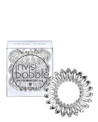 Invisibobble ORIGINAL Crystal Clear - Резинка-браслет для волос, цвет прозрачный 3 шт