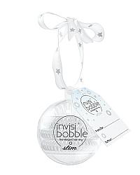 Invisibobble SLIM Bauble - Резинка для волос, цвет серебряный 3 шт