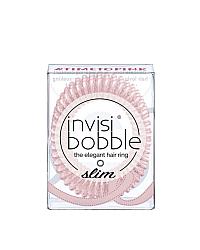 Invisibobble SLIM Time To Pink - Резинка-браслет для волос, цвет мерцающий розовый 3 шт