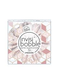 Invisibobble SPRUNCHIE My Precious - Резинка-браслет для волос, цвет розовый мрамор 1 шт