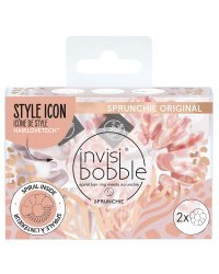 Invisibobble SPRUNCHIE Duo We'll Always Have Panther - Резинка-браслет для волос, цвет розовый/сиреневый 2 шт