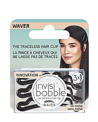 Invisibobble WAVER Pretty Dark - Набор заколок (с подвесом), цвет коричневый