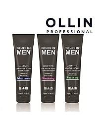 Premier For Men - Мужская линия для ухода за волосами и кожей головы с тонизирующим эффектом