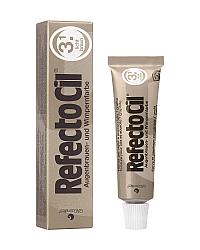 RefectoCil Eyelash and Eyebrow Tint - Краска для бровей светло-коричневая 15 мл