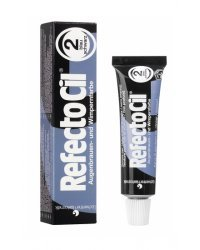 RefectoCil Eyelash and Eyebrow Tint - Краска для бровей сине-черная 15 мл