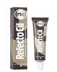 RefectoCil Eyelash and Eyebrow Tint - Краска для бровей коричневая 15 мл