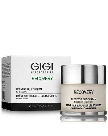 GIGI Recovery Redness Relief Cream - Крем успокаивающий от покраснений и отечности 50 мл - hairs-russia.ru