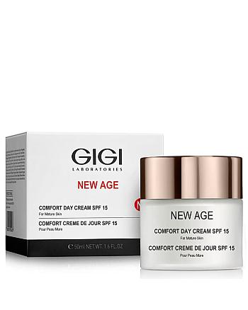 GIGI New Age Comfort Day Cream SPF 15 - Крем-комфорт дневной SPF-15 50 мл - hairs-russia.ru