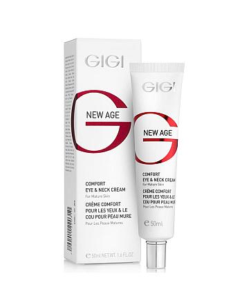 GIGI New Age Comfort Eye And Neck Cream - Крем-комфорт для век и шеи 50 мл - hairs-russia.ru