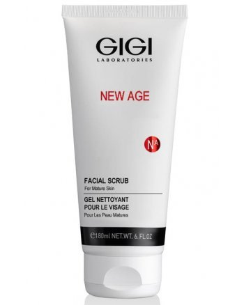 GIGI New Age Facial Scrub - Скраб коралловый деликатный для лица 180 мл - hairs-russia.ru