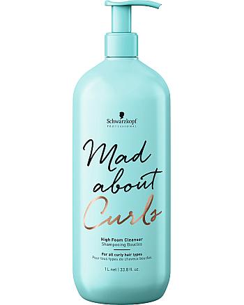Schwarzkopf Mad About Curls High Foam Cleanser - Очищающий крем-шампунь 300 мл - hairs-russia.ru