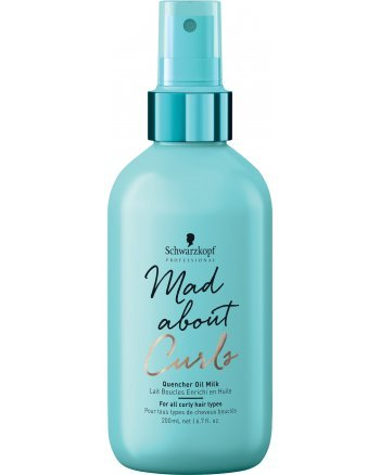 Schwarzkopf Mad About Curls Quencher Oil Milk - Молочко для укладки вьющихся волос 200 мл - hairs-russia.ru