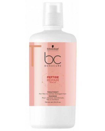 Schwarzkopf BC Bonacure Repair Rescue Treatment - Маска Спасительное восстановление 750 мл - hairs-russia.ru