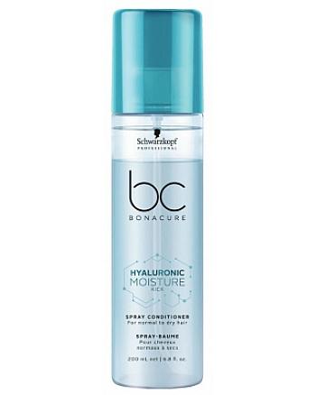 Schwarzkopf BC Bonacure Moisture Kick Spray Conditioner - Спрей-кондиционер Интенсивное увлажнение 200 мл - hairs-russia.ru