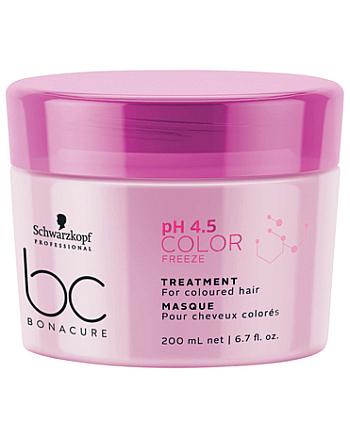 Schwarzkopf BC Bonacure pH 4,5 Color Freeze Treatment Маска - Защита цвета для окрашенных волос 200 мл - hairs-russia.ru