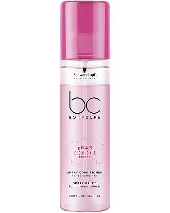 Schwarzkopf BC Bonacure pH 4,5 Color Freeze Spray-Conditioner - Спрей-кондиционер Защита цвета для окрашенных волос 200 мл - hairs-russia.ru