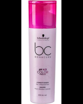 Schwarzkopf BC Bonacure pH 4,5 Color Freeze Conditioner - Кондиционер Защита цвета для окрашенных волос 200 мл - hairs-russia.ru