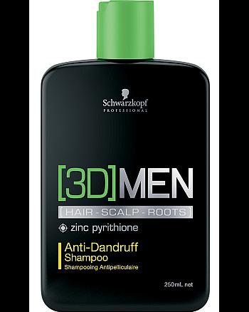 Schwarzkopf [3D]Mension Anti-Dandruff Shampoo - Шампунь против перхоти 250 мл - hairs-russia.ru