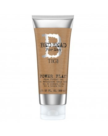 TIGI Bed Head B for Men Power Play Firm Finish Gel - Гель для волос сильной фиксации 200 мл - hairs-russia.ru