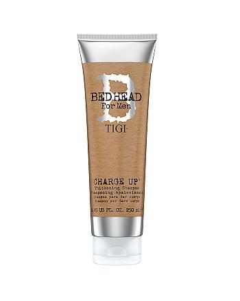 TIGI Bed Head B for Men Charge Up Thickening Shampoo - Шампунь для нормальных и тонких волос 250 мл - hairs-russia.ru