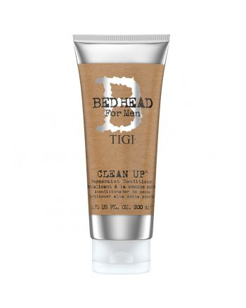TIGI Bed Head B for Men Clean Up Peppermint Conditioner - Мятный кондиционер для волос 200 мл - hairs-russia.ru