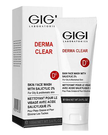 GIGI Derma Clear Skin Face Wash - Мусс очищающий с 2% салициловой кислотой 100 мл - hairs-russia.ru