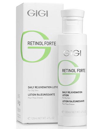GIGI Retinol Forte Daily Rejuvenation Lotion for oily skin - Лосьон-пилинг для жирной кожи 120 мл - hairs-russia.ru