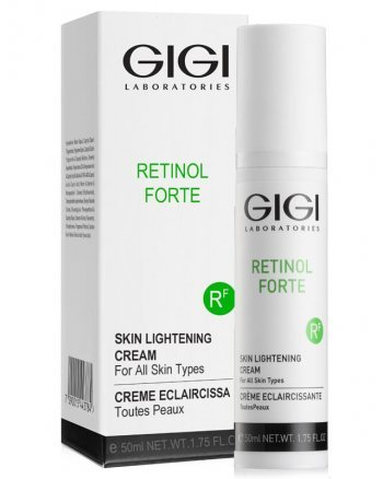 GIGI Retinol Forte Skin Lightening Cream - Отбеливающий крем для лица 50 мл - hairs-russia.ru