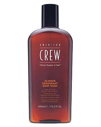 American Crew 24-Hour Deodorant Body Wash - Гель для душа дезодорирующий 450 мл - hairs-russia.ru