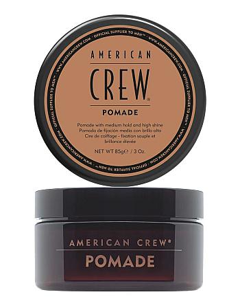 American Crew Pomade - Помада для укладки волос 85 мл - hairs-russia.ru