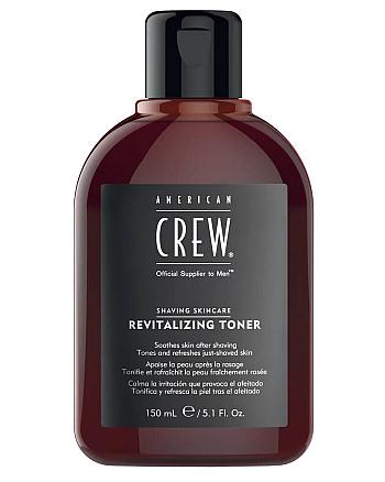 American Crew Revitalizing Toner - Восстанавливающий лосьон после бритья 150 мл - hairs-russia.ru