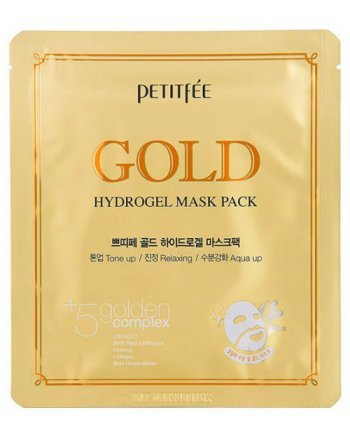 PETITFEE Gold Hydrogel Mask Pack - Маска для лица гидрогелевая c золотом 32 гр
