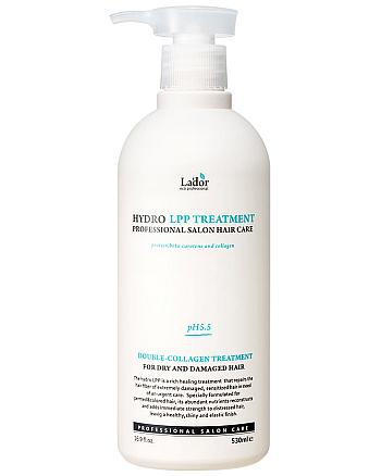 LA'DOR Eco Hydro LPP Treatment - Увлажняющая маска для сухих и поврежденных волос 530 мл - hairs-russia.ru