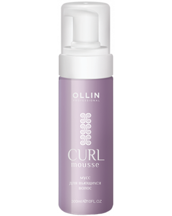 Ollin Curl Hair Curls building mousse - Мусс для создания локонов, 150 мл