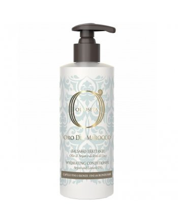Barex Olioseta Oro del Marocco Hydrating Conditioner Увлажняющий кондиционер для тонких и светлых волос с маслом арганы и семян льна 250 мл - hairs-russia.ru