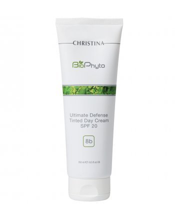 "Christina Bio Phyto-8b Ultimate Defense Tinted Day Cream SPF 20 - Дневной крем ""Абсолютная защита"" SPF 20 с тоном 250 мл, шаг 8b - hairs-russia.ru"