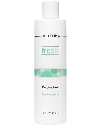 Christina Purifying Toner for oily skin with Lemongrass - Очищающий тоник с лемонграссом для жирной кожи 300 мл - hairs-russia.ru