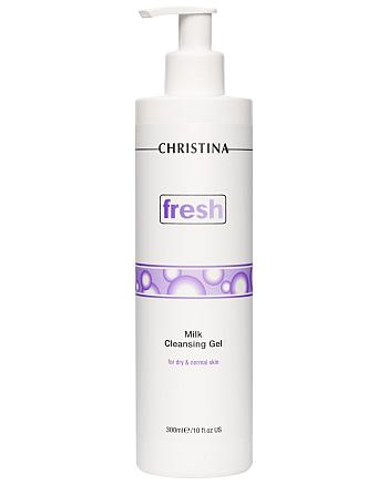 Christina Fresh Milk Cleansing Gel - Молочное мыло для сухой и нормальной кожи 300 мл - hairs-russia.ru
